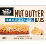 Tasti Peanut Butter & Salted Caramel Nut Butter Bars 175g