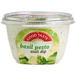 The Good Taste Co. Aioli Dip Basil Pesto 160g