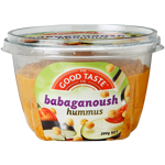 The Good Taste Babaganoush Hummus 200g