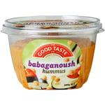The Good Taste Babaganoush Hummus 200g