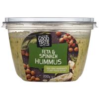 The Good Taste Hummus Feta & Spinach 200g