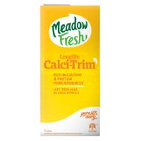 Meadow Fresh Calci-Trim Long Life Milk 1l