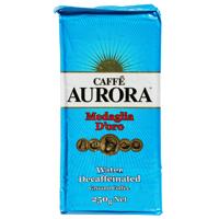 Aurora Medaglia D'oro Water Decaffeinated Ground Coffee 250g