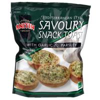 Anitin Garlic Parsley Savoury Snack Toast 150g