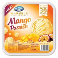 Much Moore Marvels Mango Passion Ice Cream 2l