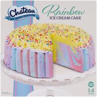 Chateau Rainbow Cake Ice Cream 1.4l