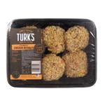 Turk's Crumbed Chicken Rissoles 500g