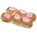 Bakery Raspberry Iced Buns 6ea