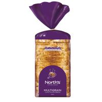 Norths Multigrain Toast Sliced Bread 600g