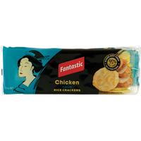 Fantastic Chicken Rice Crackers 100g