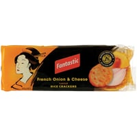 Fantastic French Onion & Cheese Rice Crackers 100g