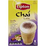 Lipton Chai Latte Vanilla 8 Sachets 185g