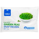 Value Garden Peas 1kg