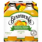 Bundaberg Tropical Mango Sparkling Drink 4pk