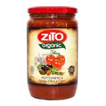 Zito Organic Sicilian Olive & Caper Pasta Sauce 690g
