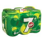 7 Up Soft Drink 2130ml (355ml x 6pk)