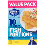Captains Choice Crumbed Fish Portion 710g