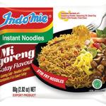 Indomie Mi Goreng Satay Instant Noodles 80g