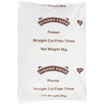 Golden Pride Straight Cut Fries 13mm 5kg