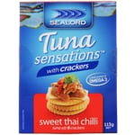 Sealord Tuna with Crackers Sweet Thai Chilli 113g