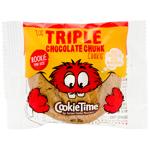 Cookie Time Triple Chocolate Chunk Cookie 25g