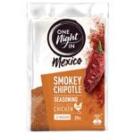 One Night In Mexico Smokey Chipotle Medium Chicken Seasoning 35g