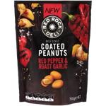 Bluebird Red Pepper & Roast Garlic Coated Peanuts 150g