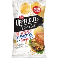 Eta Deli Cut All American Burger Potato Chips 140g