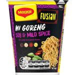 Maggi Fusian Mi Goreng Soy Mild & Spice Noodles 64g