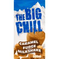 The Big Chill Caramel Fudge Milkshake 500ml