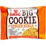 I Love Baking Ginger Ninja Big Cookie 50g