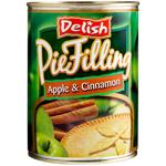 Delish Apple & Cinnamon Pie Filling 550g