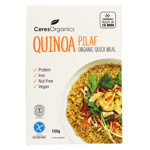 Ceres Organics Quinoa Pilaf Organic Quick Meal 150g