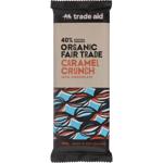 Trade Aid Organic 40% Caramel Crunch Milk Chocolate 100g