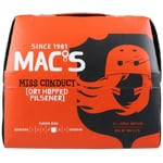 Mac's Miss Conduct Dry Hopped Pilsener 12pk