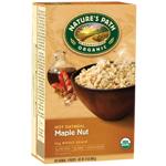 Nature's Path Organic Maple Nut Hot Oatmeal 400g