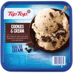 Tip Top Cookies & Cream Ice Cream 2l