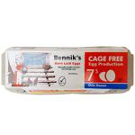 Bennik's Cage Free Size 7 Eggs 12ea