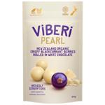 Viberi Dark Chocolate Rolled New Zealand Organic Blackcurrant Berries 90g