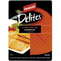 Fantastic Delites Flamed Grilled Barbecue Rice Snacks 100g