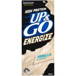 Sanitarium Up & Go Energize Vanilla Flavoured Liquid Breakfast 350ml