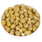 Elysian Foods Marinated Green Pitted Olives 1kg