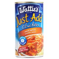 Wattie's Just Add Chicken Sweet Apricot Simmer Sauce 550g