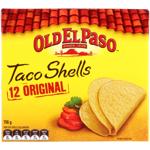 Old El Paso Taco Shell 12ea