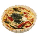 Bakery Spinach & Feta Quiche 1ea