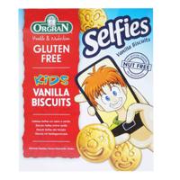 Orgran Gluten Free Kids Selfies Vanilla Biscuits 150g