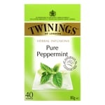 Twinings Herbal Infusions Pure Peppermint 40pk