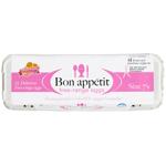Bon Appetit Free Range Size 7 Eggs 12ea