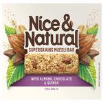 Nice & Natural Supergrains Almond Chocolate Bar 6pk