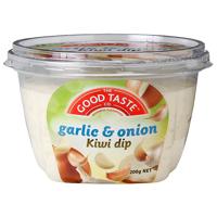 The Good Taste Co. Garlic & Onion Kiwi Dip 200g